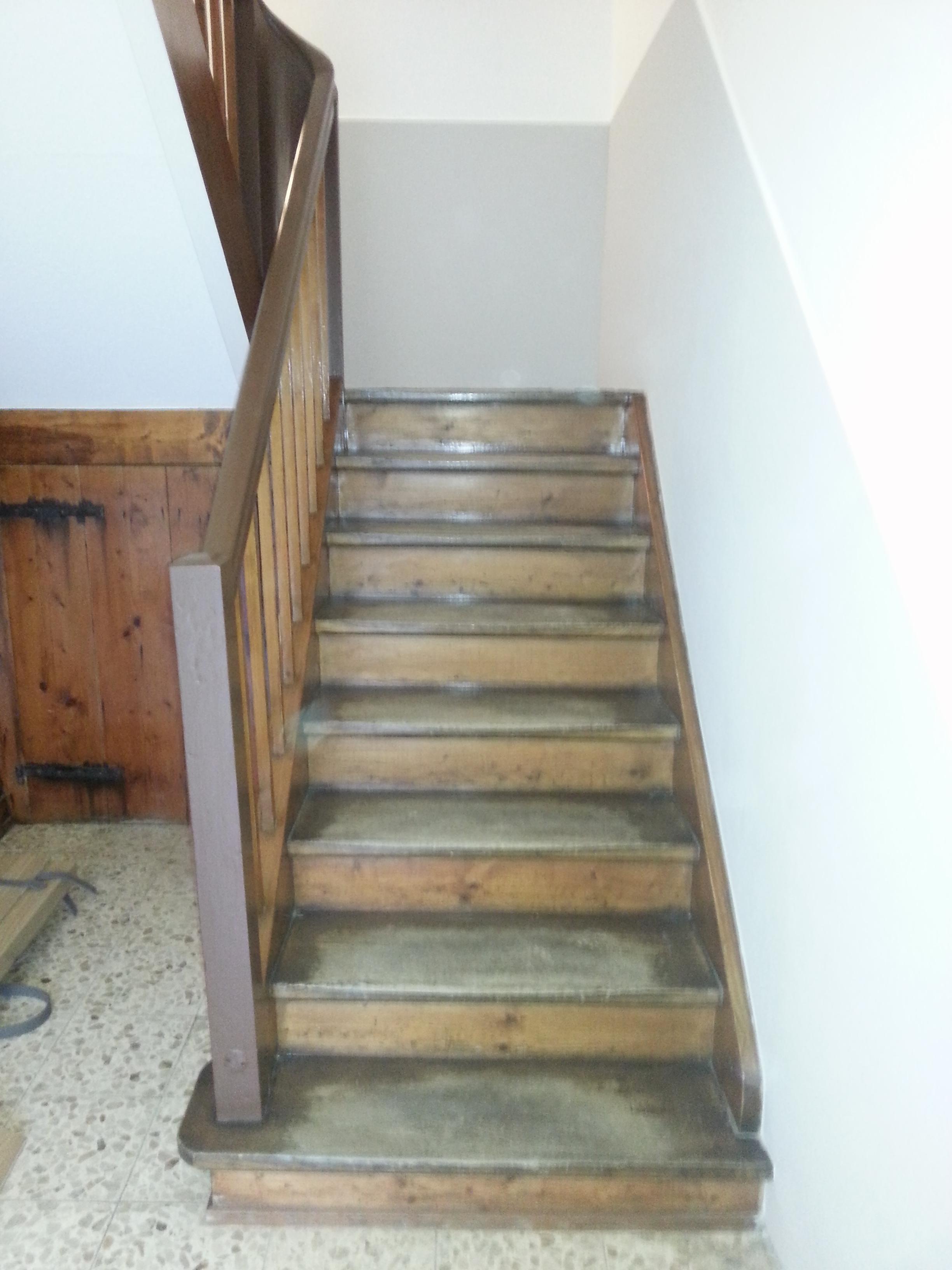 treppe mit laminat raumgestaltung dinser. Black Bedroom Furniture Sets. Home Design Ideas
